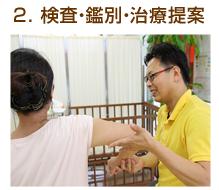 2.検査・鑑別・治療提案