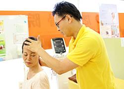 鹿児島市まつだ整骨院:頭痛治療施術の写真02