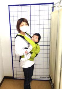 産後のママと赤ちゃんの写真