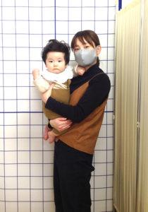 産後のママと赤ちゃん